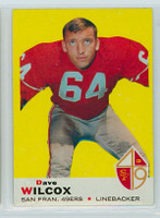 1969 Topps Football 44 Dave Wilcox San Francisco 49ers Near-Mint
