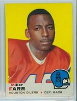 1969 Topps Football 50 Miller Farr Houston Oilers Excellent to Mint