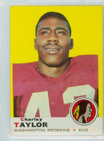 1969 Topps Football 67 Charley Taylor Washington Redskins Excellent