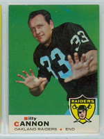 1969 Topps Football 68 Billy Cannon Oakland Raiders Excellent to Mint