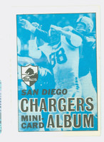 1969 Topps Football 4-1 Booklets 26 San Diego Chargers Near-Mint