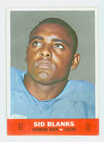 1968 Topps Football Stand Up 1 Sid Blanks Houston Oilers Excellent