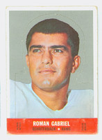 1968 Topps Football Stand Up 4 Roman Gabriel Los Angeles Rams Very Good