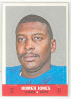 1968 Topps Football Stand Up 9 Homer Jones New York Giants Near-Mint