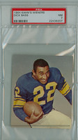 1964 Kahn Weiners Football 3 Dick Bass Los Angeles Rams PSA 7 Near Mint