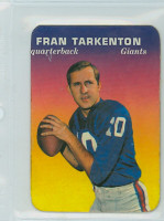 1970 Glossy Football 15 Fran Tarkenton New York Giants Excellent