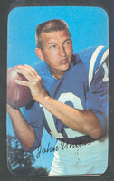 1970 Topps Football Supers 15 Johhny Unitas Baltimore Colts Near-Mint
