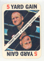 1971 Topps Football Game 9 Tommy Nobis Atlanta Falcons Excellent to Mint