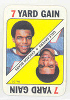 1971 Topps Football Game 10 Gale Sayers Buffalo Bills Near-Mint