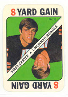 1971 Topps Football Game 11 Virgil Carter Cincinnati Bengals Near-Mint