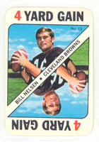 1971 Topps Football Game 13 Bill Nelsen Cleveland Browns Near-Mint