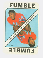 1971 Topps Football Game 17 Floyd Little Denver Broncos Excellent