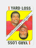 1971 Topps Football Game 26 Bobby Bell Kansas City Chiefs Near-Mint
