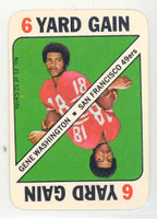 1971 Topps Football Game 32 Gene Washington Minnesota Vikings Excellent