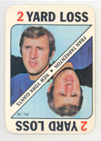 1971 Topps Football Game 35 Fran Tarkenton Minnesota Vikings Excellent to Mint