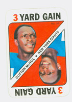 1971 Topps Football Game 36 Clifton McNeil New York Giants Near-Mint Plus