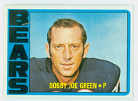 1972 Topps Football 11 Bobby Joe Green Chicago Bears Near-Mint