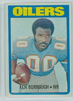 1972 Topps Football 26 Ken Burroughs ROOKIE Houston Oilers Excellent to Excellent Plus