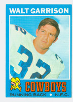1971 Topps Football 8 Walt Garrison ROOKIE Dallas Cowboys Excellent to Mint