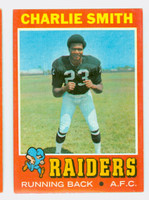 1971 Topps Football 21 Charlie Smith Oakland Raiders Excellent