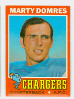 1971 Topps Football 66 Marty Domres ROOKIE San Diego Chargers Excellent to Mint