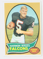 1970 Topps Football 5 Harmon Wages Atlanta Falcons Near-Mint