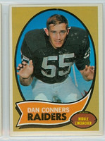 1970 Topps Football 6 Dan Conners Oakland Raiders Near-Mint