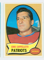 1970 Topps Football 7 Gino Cappelletti Boston Patriots Excellent to Mint