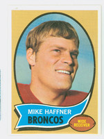 1970 Topps Football 14 Mike Haffner Denver Broncos Excellent to Excellent Plus