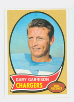 1970 Topps Football 23 Gary Garrison San Diego Chargers Excellent to Mint