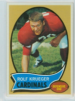 1970 Topps Football 26 Rolf Krueger St. Louis Cardinals Near-Mint