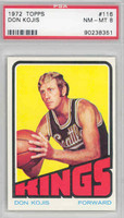 1972 Topps Basketball 116 Don Kojis Cincinnati Royals PSA 8 Near Mint to Mint