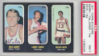 1971 Topps Basketball Trios ABA 13-15 Barry / Jones / Keye Single Print PSA 7 Near Mint