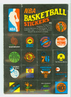 1971 Topps Basketball Trios NBA 46 - NBA Logos Excellent