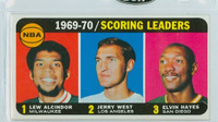 1970 Topps Basketball 1 Scoring Leaders Excellent to Mint