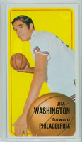 1970 Topps Basketball 14 Jim Washington Philadelphia 76ers Excellent to Excellent Plus