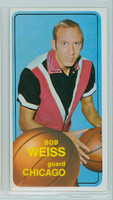 1970 Topps Basketball 16 Bob Weiss Chicago Bulls Excellent to Mint