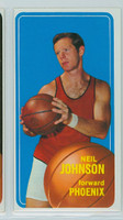 1970 Topps Basketball 17 Neil Johnson Pheonix Suns Excellent to Excellent Plus