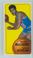 1970 Topps Basketball 19 McCoy McLemore Cleveland Cavaliers Excellent to Excellent Plus