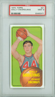 1970 Topps Basketball 21 Wally Anderzunas Cincinnati Royals PSA 9 Mint