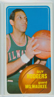 1970 Topps Basketball 22 Guy Rodgers Milwaukee Bucks Near-Mint