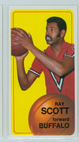 1970 Topps Basketball 48 Ray Scott Buffalo Braves Excellent to Excellent Plus