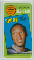 1970 Topps Basketball 113 Elgin Baylor AS Los Angeles Lakers Near-Mint