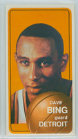 1970 Topps Basketball 125 Dave Bing Detroit Pistons Near-Mint to Mint
