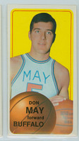 1970 Topps Basketball 152 Don May Buffalo Braves Excellent to Mint