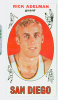 1969 Topps Basketball 23 Rick Adelman ROOKIE San Diego Rockets Excellent to Mint