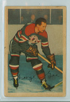 1953-54 Parkhurst Hockey 83 George Gee Chicago Black Hawks Very Good