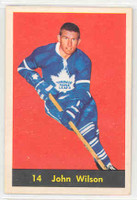 1960-61 Parkhurst 14 Johnny Wilson Toronto Maple Leafs Near-Mint