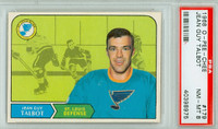 1968-69 OPC Hockey 179 Jean Guy talbot St. Louis Blues PSA 8 Near Mint to Mint