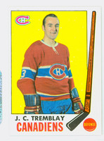 1969-70 Topps Hockey 5 JC Tremblay Montreal Canadiens Near-Mint